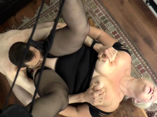 Titfucking british granny gets anally plowed