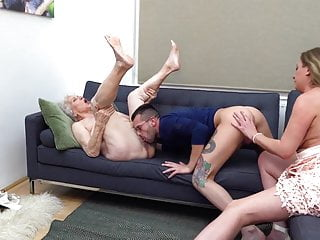 Family threesome. Norma plus will not hear of daughter with will not hear of economize