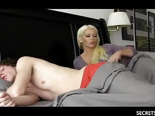 Shameless Stepmom with Big Confidential Seduced Young Stepson
