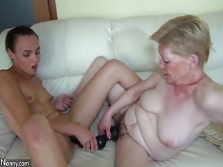 Oldnanny mature lesbian toysex hoax