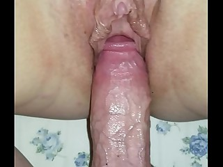 Creampie my sleeping materfamilias