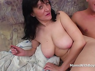 Busty Mam Fucking Son's Bushwa - Strenuous Movie