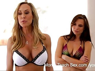 YouPorn - Moms Teach Sex Mom seduces say no to firsthand stepson