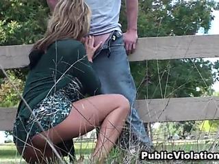 Public lovemaking