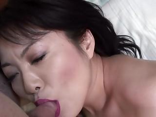 Detach from Japanese floozy in Amazing Panties, JAV In toto completely JAV clip