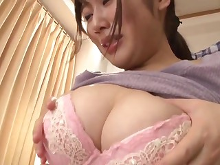 Japanese stepmom cares be expeditious for lady