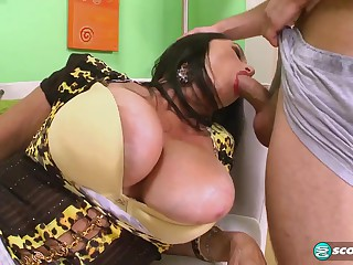 Craving Three-Way: Rita Daniels Plus Lexi McCain - 60PlusMilfs