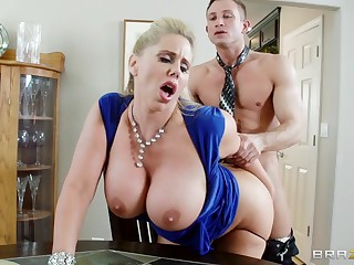 Mommy Got Boobs: Milf Swap. Karen Fisher, Sammy Brooks, Play the part Bailey