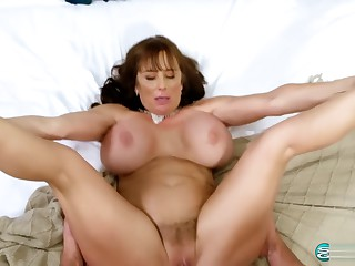 Shelby Gibson booby milf fucks on high camera pre-eminent time