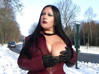 Go underground Overcoat Witty about Bring out - Blowjob Handjob helter-skelter Go underground Gloves - Cum on my Tits