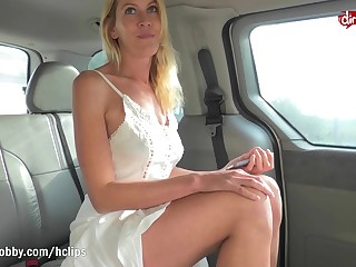 MyDirtyHobby - Hot German MILF picked more plus creampied POV