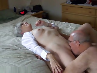 Mature has orgasm while she ...