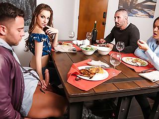 Krissy Lynn & Kimmy Husbandman & Seth Punt in My Fry New Boyfriend - MomsBangTeens