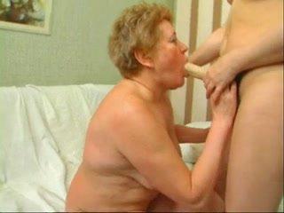 Mom strapons granny