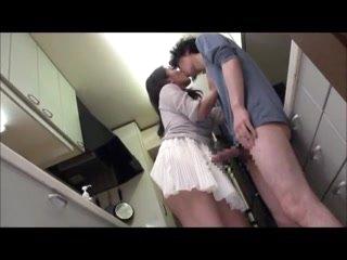 Japanese Mom Seduces rub-down the Boys - MrBonham