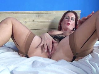 Hot mature maw and MILF with vitalized vagina