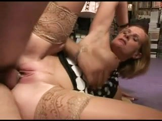 FRENCH Of age 35 anal festival mom milf and a younger man