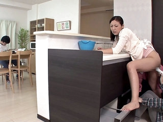 Milf Gets Pleasured While Her Daughter Is Measures - MilfsInJapan