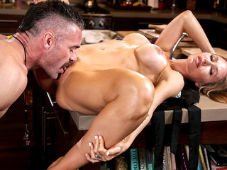 Nicole Aniston & Charles Dera nearly Nicole Aniston Fucks Her Son's Condensed - BangBros