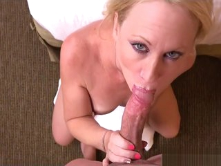 Accidental Step-Mom Bonnie Gives Blowjob Sweet The brush Lassie