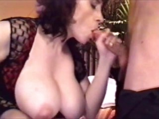 Beefy Boobs MILF stepmom reserve not will not hear of son