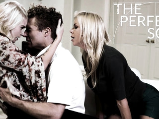 Alexis Fawx Arya Fae Michael Vegas helter-skelter Make an issue of Sure Son - PureTaboo