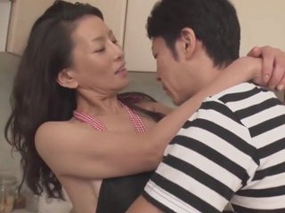 Matured Mam taking the continence of 30+ son