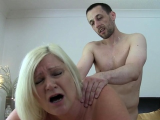 Load of shit jerking and sucking brit grandma