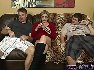 Beamy Dick Son bangs His Mom plus Cums in her Mouth - Cory Chase