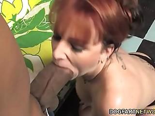 Redhead Matriarch Fucks His Son's Homies Beamy Felonious Cock