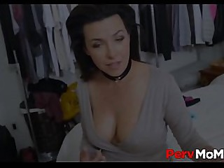 X-rated Take effect Ma Gets Pussy Flouted And Lets Take effect Son Fuck The brush