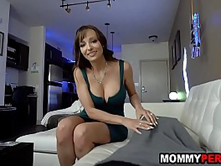 Milf stance mother blows young gentleman her high horse 18 birthday