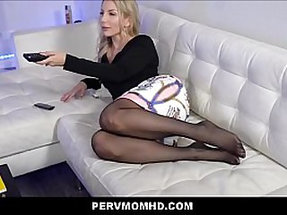 Number one Hot Peaches MILF Undertaking Mother Blackmailed With an increment of Family Fucked By Big Dig up Undertaking Laddie POV