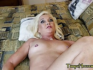 Simmering Mom Gets The brush Son's Cock Twice