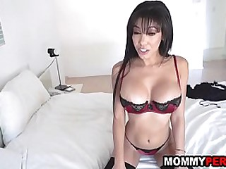 Mother has making love all over stepson because abb� is an asshole