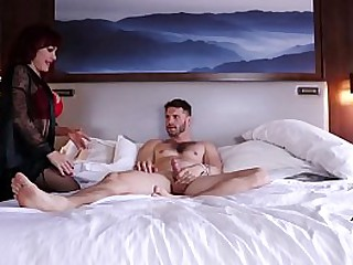 MILF Off colour VANESSA getting fucked all round LA inn  - advance showing solo TOMMY WOOD