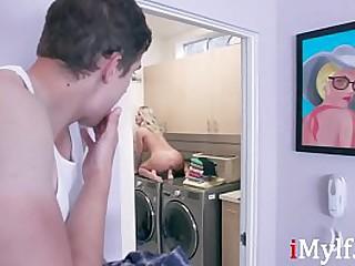 Progenitrix Caught Masturbating By Her Son