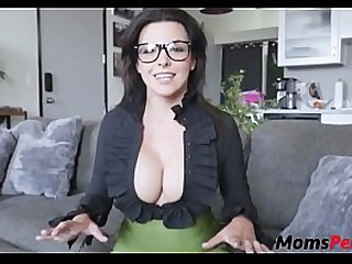 Big boobs milf fucks stepsons big horseshit