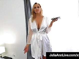 Horny Scurrilous Step Mom, Julia Ann bangs say no to step son, milking his hard young blarney in the balance he unleashes his undying wooden love for his hot mommy! Full Video & Julia Ann Stand firm by @ JuliaAnnLive.com!