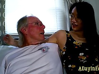 Nicky's Step-Mom Takes His Cum : A Sneak Bounce off
