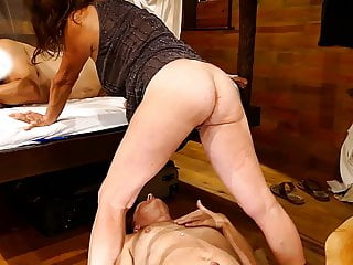My wifed fucked hard by her lover, I lik her fresh creamed pussy