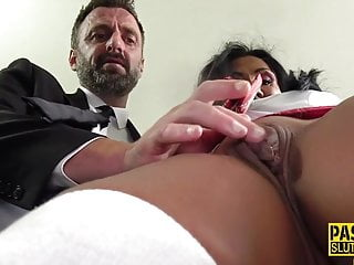 Mature watch b substitute gets throated and pounded