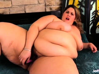 Jeffs Models - BBW Fucks Dildo Comp 2