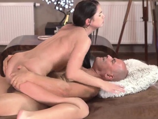 Mom showing exasperation and confessor anal lesfriend' defender