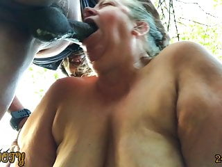Mature bbw gives deepthroat squirting blowjob ing�nue
