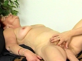 ugly superannuated mom first fisting lesson