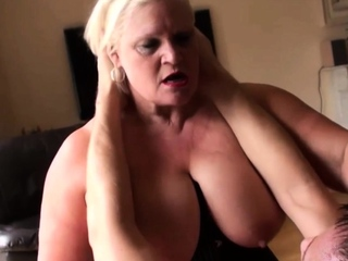 Ridden gran Lacey Starr gets throated