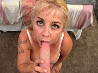Heavy Bristols MILF Joclyn Stone Talks Dirty While Taking Heavy Horseshit