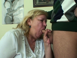 He picks just about huge 80 years ancient grandma for sex