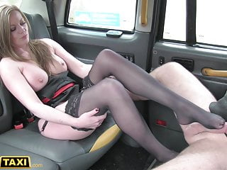 Fake Taxi, English MILF anent beamy tits cheats on will not hear of cut corners